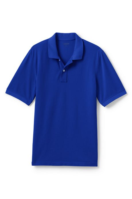 Men's Tall Mesh Short Sleeve Polo Shirt