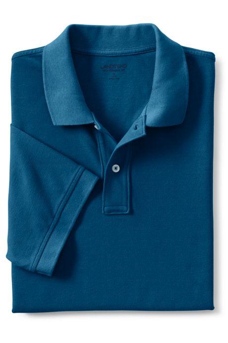 Men's Big and Tall Mesh Short Sleeve Polo Shirt