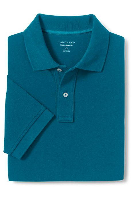 Men's Mesh Short Sleeve Polo Shirt