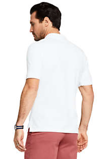 Men's Mesh Short Sleeve Polo Shirt, Back