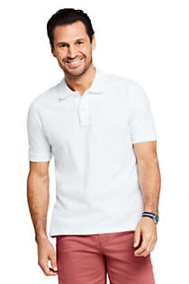 Men's Mesh Short Sleeve Polo Shirt, Front