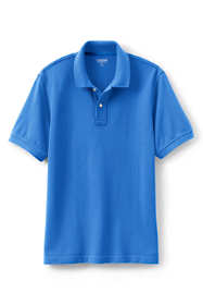 Men's Short Sleeve Tailored Fit  Mesh Polo Shirt