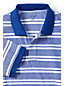 Men's Regular Striped Traditional Fit Piqué Polo