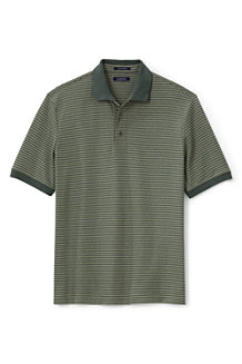 Men's Short Sleeve Supima Jacquard Polo