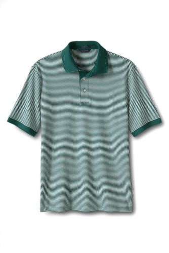 Gestreiftes Supima-Polo, Classic Fit