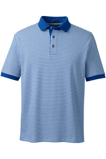 Men's Striped Traditional Fit Supima® Polo