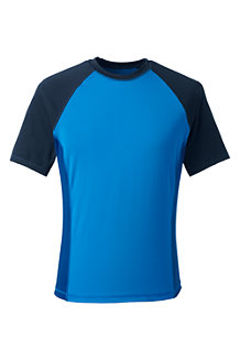 Men's Short Sleeve Colourblock Swim Tee