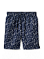 Men's Regular 8˝ Patterned Swim Shorts