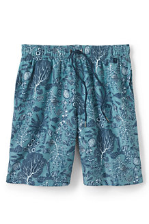 Men's 8˝ Patterned Swim Shorts