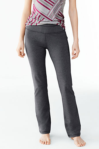 Women's Activewear Control Bootcut Pants - Iron Heather