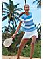 Le T-Shirt Performance à Col Rond à Motifs Femme, Taille Standard