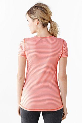 Activewear T-Shirt Gemustert
