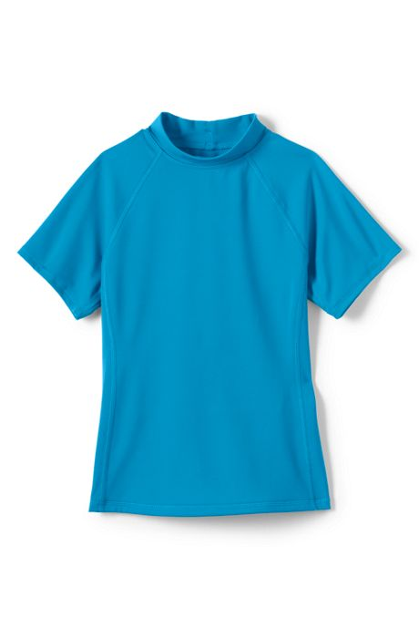 Little Girls Short Sleeve Rash Guard