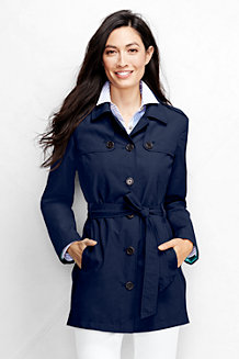 Le Trench Coat Court Femme