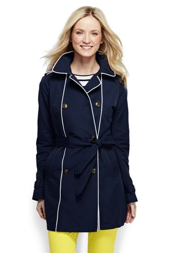 Women's Heritage Double Breasted Trench Coat