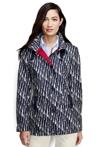 Women's Petite Patterned Storm Raker Jacket