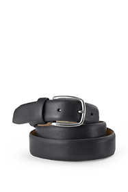 Men's Comfort Fit Leather Dress Belt