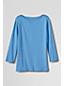 Fein geripptes Jerseyshirt mit Schulterknöpfen