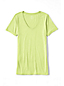 Women's Regular Slub Jersey V-Neck Tee