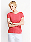 Women's Cable Jacquard T-shirt