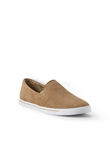 Women's Classic Suede Slip-on Trainers