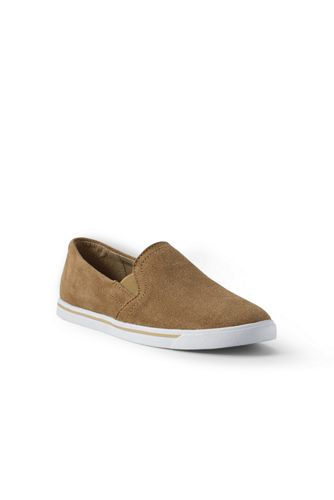 Women's Regular Classic Suede Slip-on Trainers
