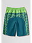 Little Boys' Patterned Colourblock Swim Shorts