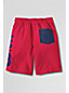 Little Boys' Rosa Red Sail Graphic Swim Shorts
