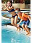 Toddler Boys' Printed Swim Shorts