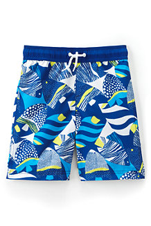 Boys' Printed Swim Trunks