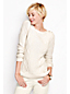 Women's Regular Lofty Blend Lurex Aran Jumper