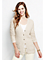 Women's Regular Lofty Blend Lurex Aran Cardigan