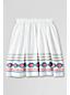 Girls' Embroidered Gathered Skirt