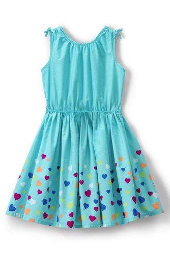 Girls' Cool Vista Multi Hearts Twirl Dress