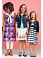 Little Girls' Sleeveless Ruffle Front Dress