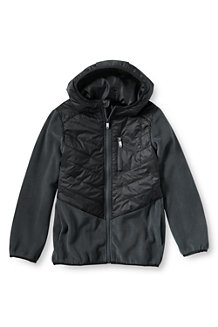 Boys' Fleece Hybrid Jacket