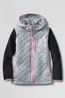Girls' Fleece Hybrid Jacket