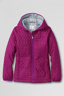 Girls' Packable Insulated Jacket