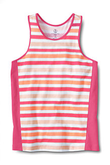 Girls' Striped Racerback Vest Top