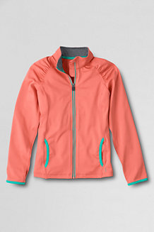 Girls' Performance Zip Front Jacket