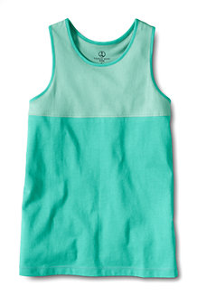 Girls' Colourblock Racerback Vest Top