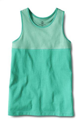 Little Girls' Colourblock Racerback Vest Top