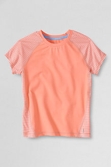 Girls' Short Sleeve Performance Tee