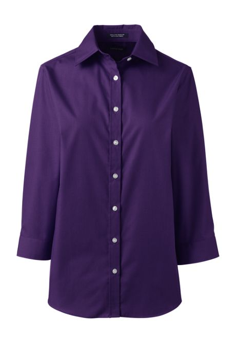 Women's 3/4 Sleeve Perfect Dress Shirt