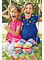 Toddler Girls' Patterned Cropped Jersey Leggings