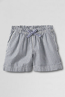 Girls' Pull-on Seersucker Shorts