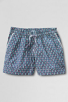 Girls Patterned Pull-on Woven Shorts