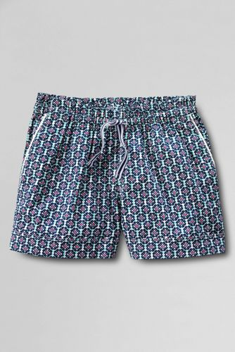 Little Girls' Patterned Pull-on Woven Shorts