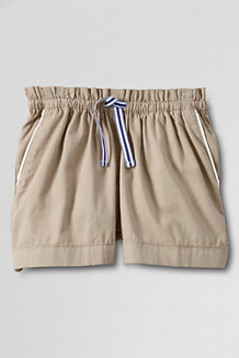 Girls' Pull-on Cotton Shorts