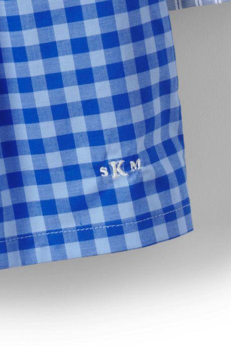 Men's Pattern Broadcloth Boxers (3-pack)